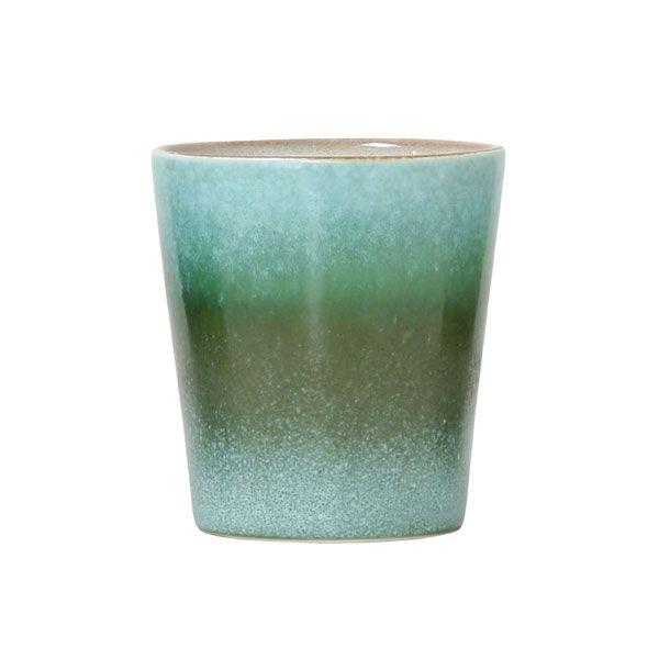 HK Living Keramik 70u0027s Becher, grass HK Living bringt Dir die 70er