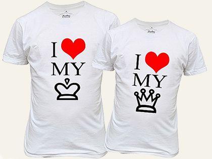 U And Louiss Couple Shrit Camisetas Personalizadas Para