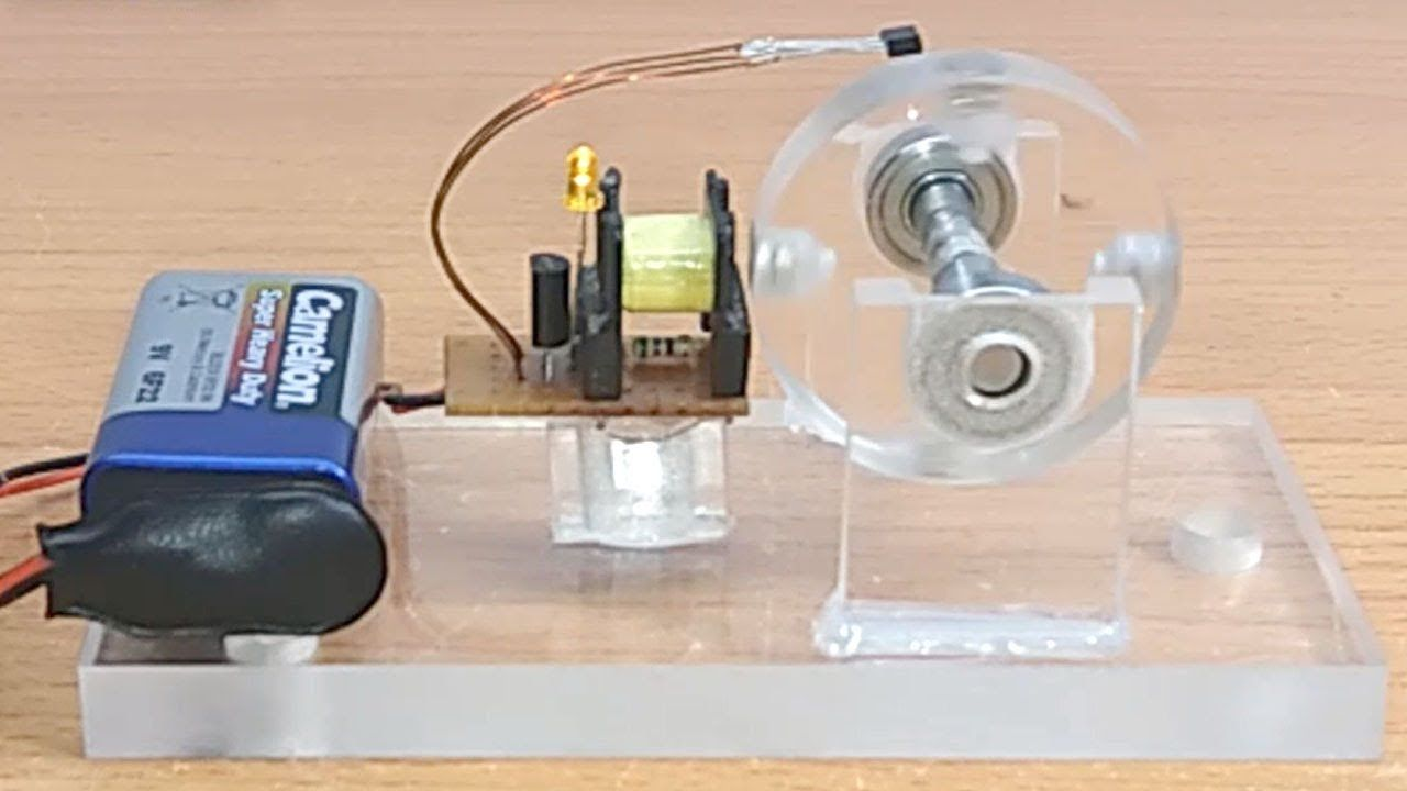 Simple Brushless Motor Part 16 Electronics Projects Diy Electrical Electrician