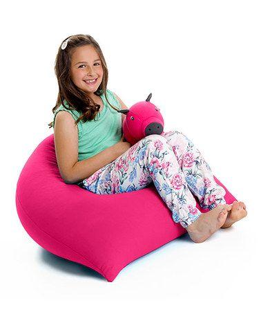 Love This Pink Yogibo Pyramid Beanbag Chair On Zulily Zulilyfinds Bean Bag Chair Bean Bag Furniture Bean Bag Couch
