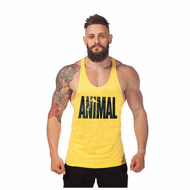1bc135c76c5a7 Superman Gym Singlets Mens Tank Tops Shirt