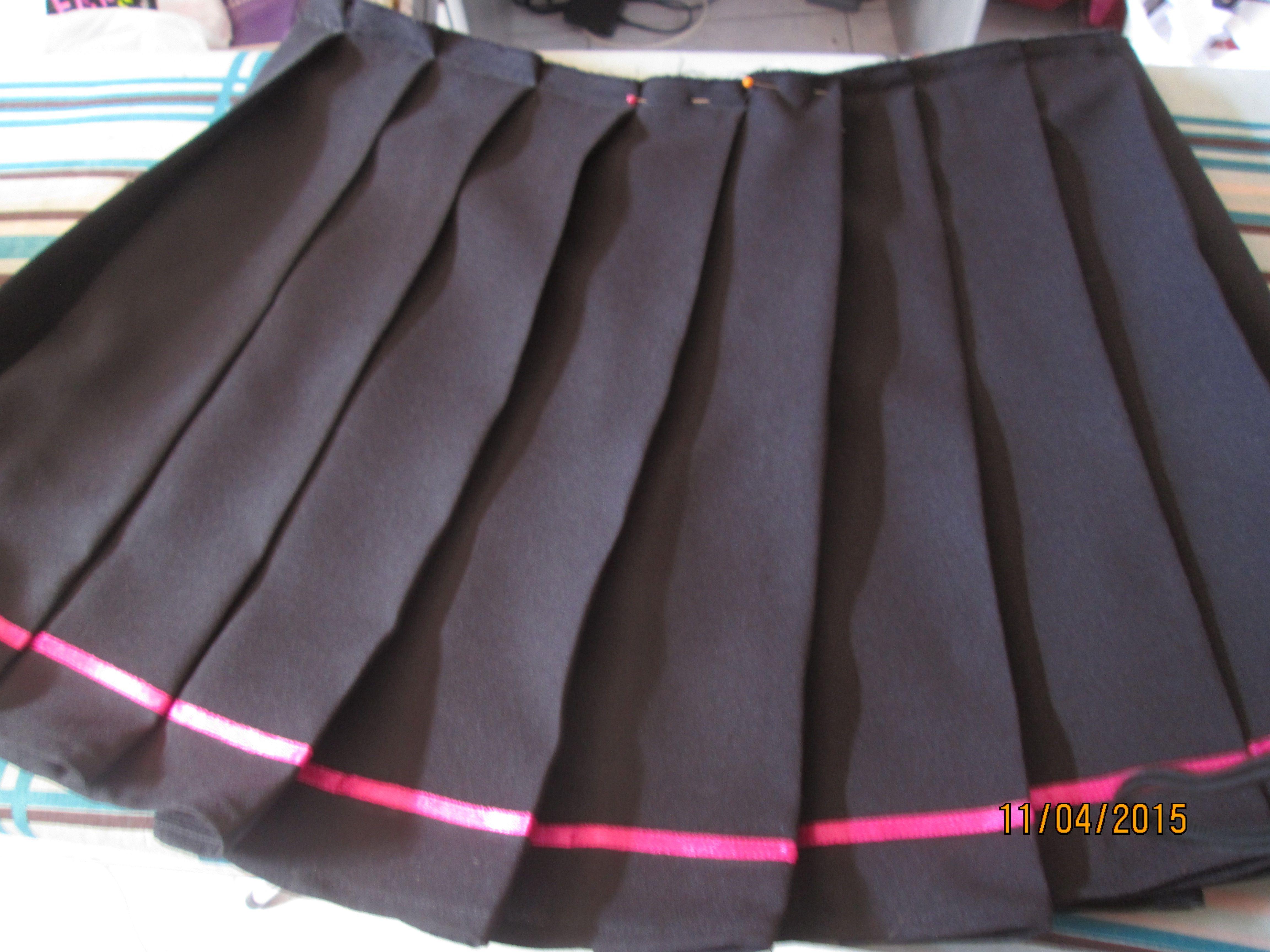 COSPLAY – La classique jupe plissée