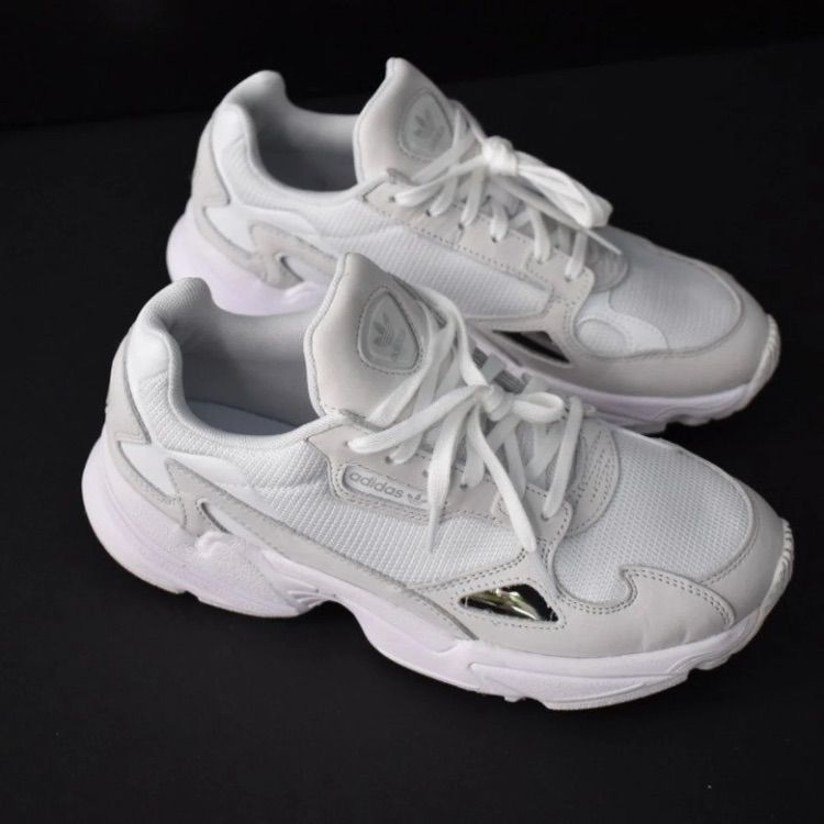 18b492ba8bc adidas Shoes | Adidas Falcon Sneaker | Color: White | Size: 7 in ...