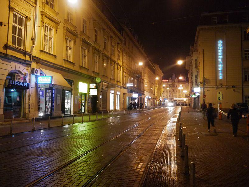 12 Dark Hours In Zagreb Croatia The City Lane Zagreb Croatia City Architecture