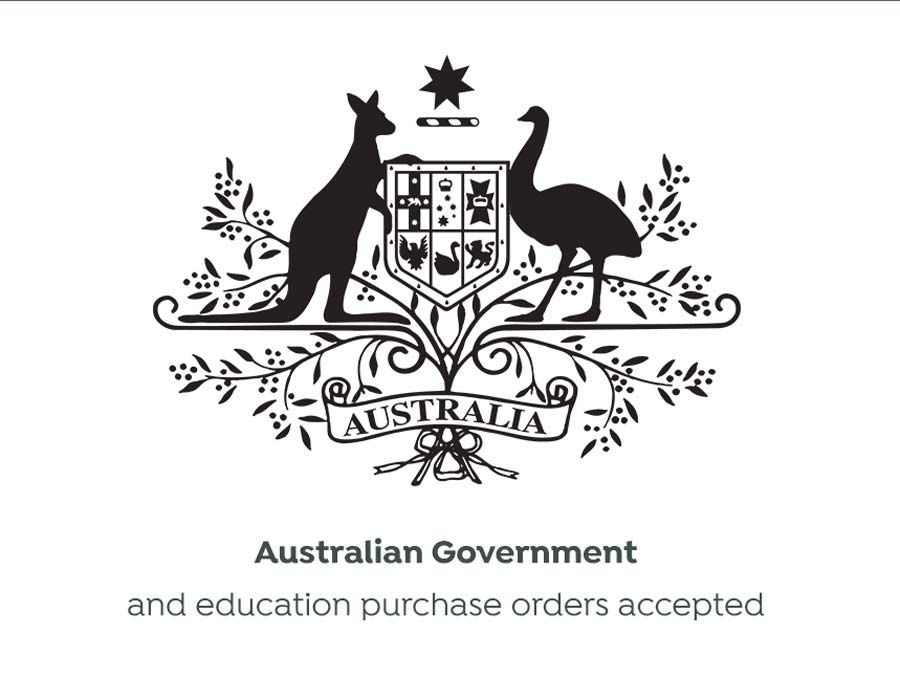 We accept Australian Government and Education purchase