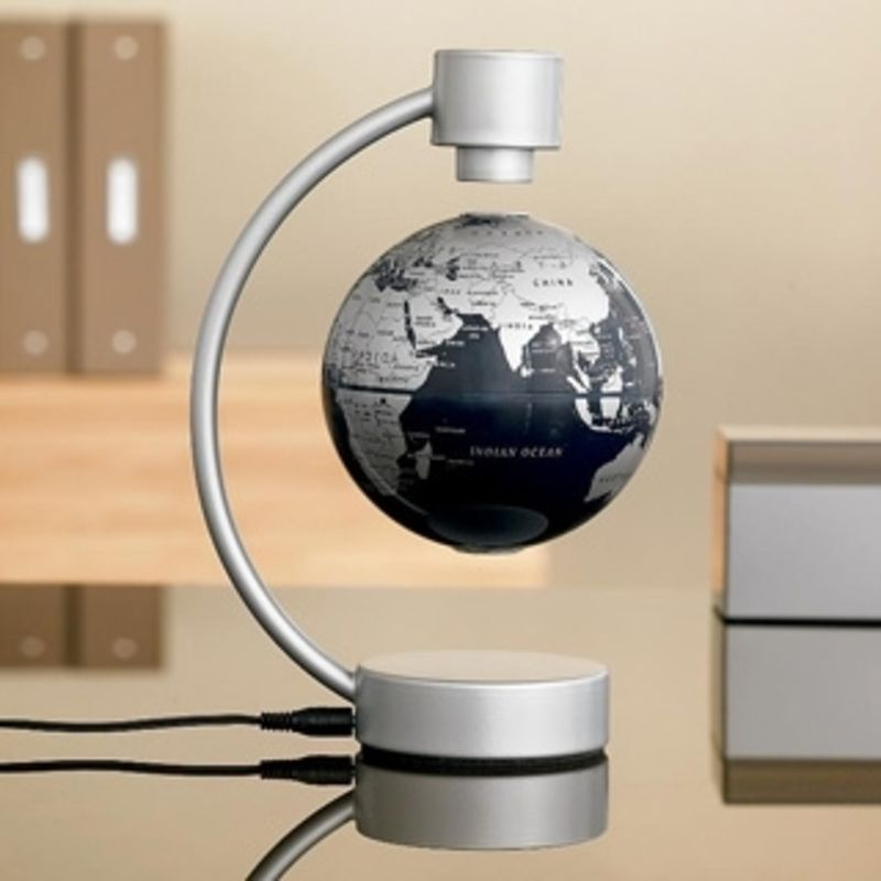 floating desktop globe 19 fun and creative gifts to give your boss lifestyle leather