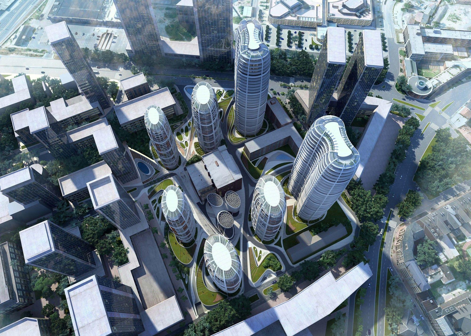 Proposta para o Novo Centro da Cidade de Bratislava Culenova / Zaha Hadid Architects