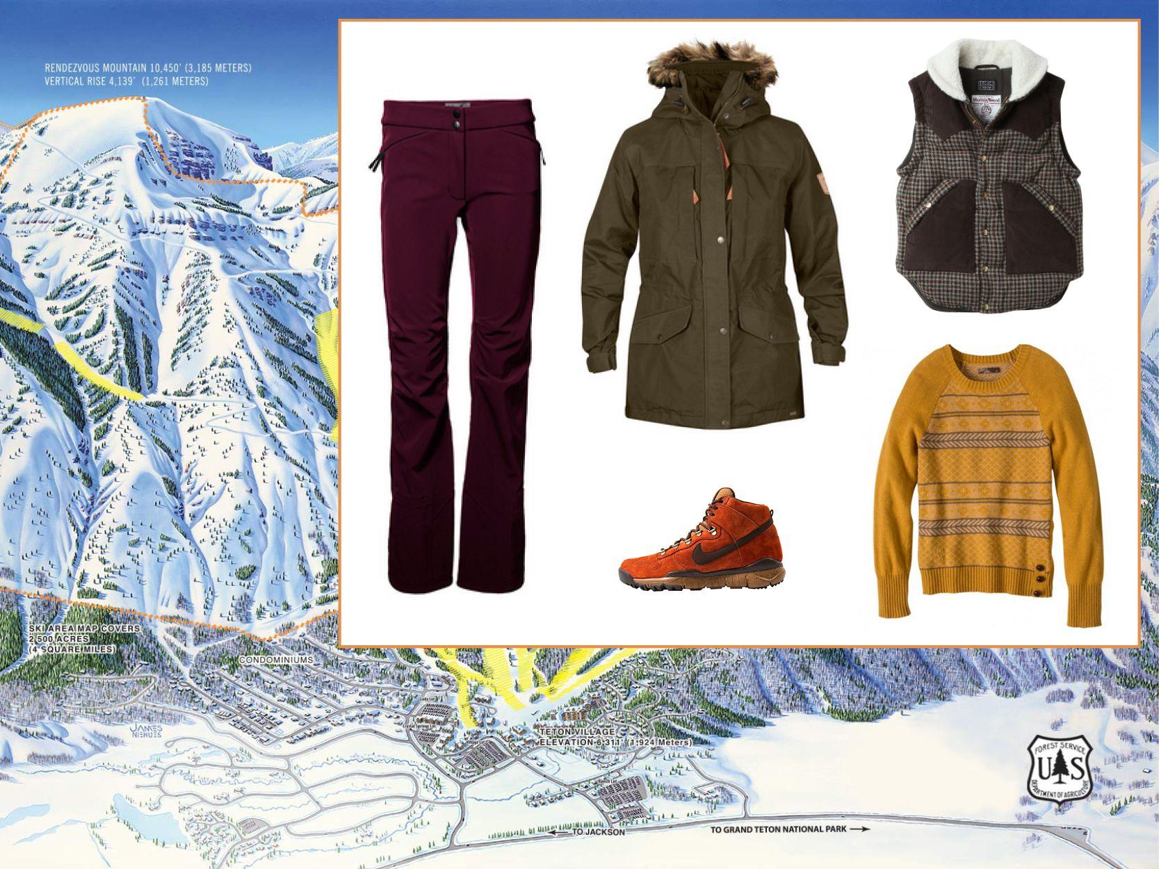 Look Chic On The Slopes The Best Ski Style From Aspen To Zermatt Ski Fashion Best Skis Winter Jackets