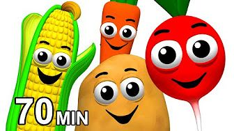 Veggie Songs Fruit Rhymes Learn Names Of Vegetables Kids Nursery School Esl Busy Beavers Youtube Kids Vegetables Name Of Vegetables Songs