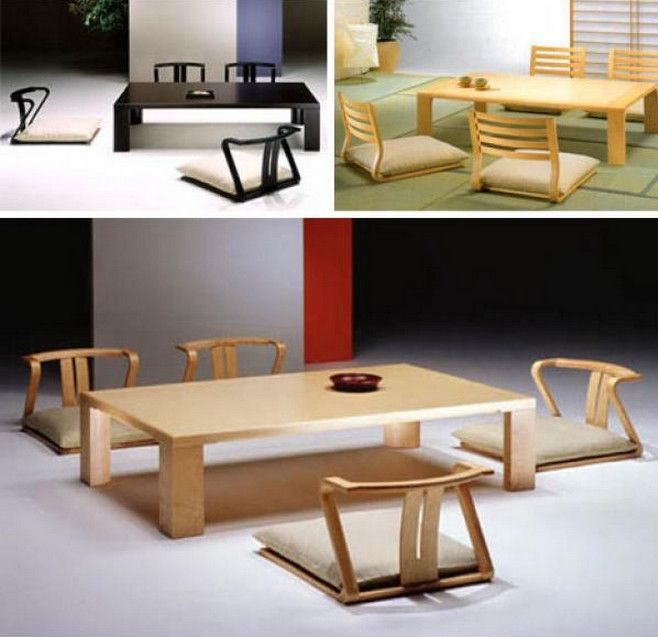 Japanese Floor Table And Its Characteristics