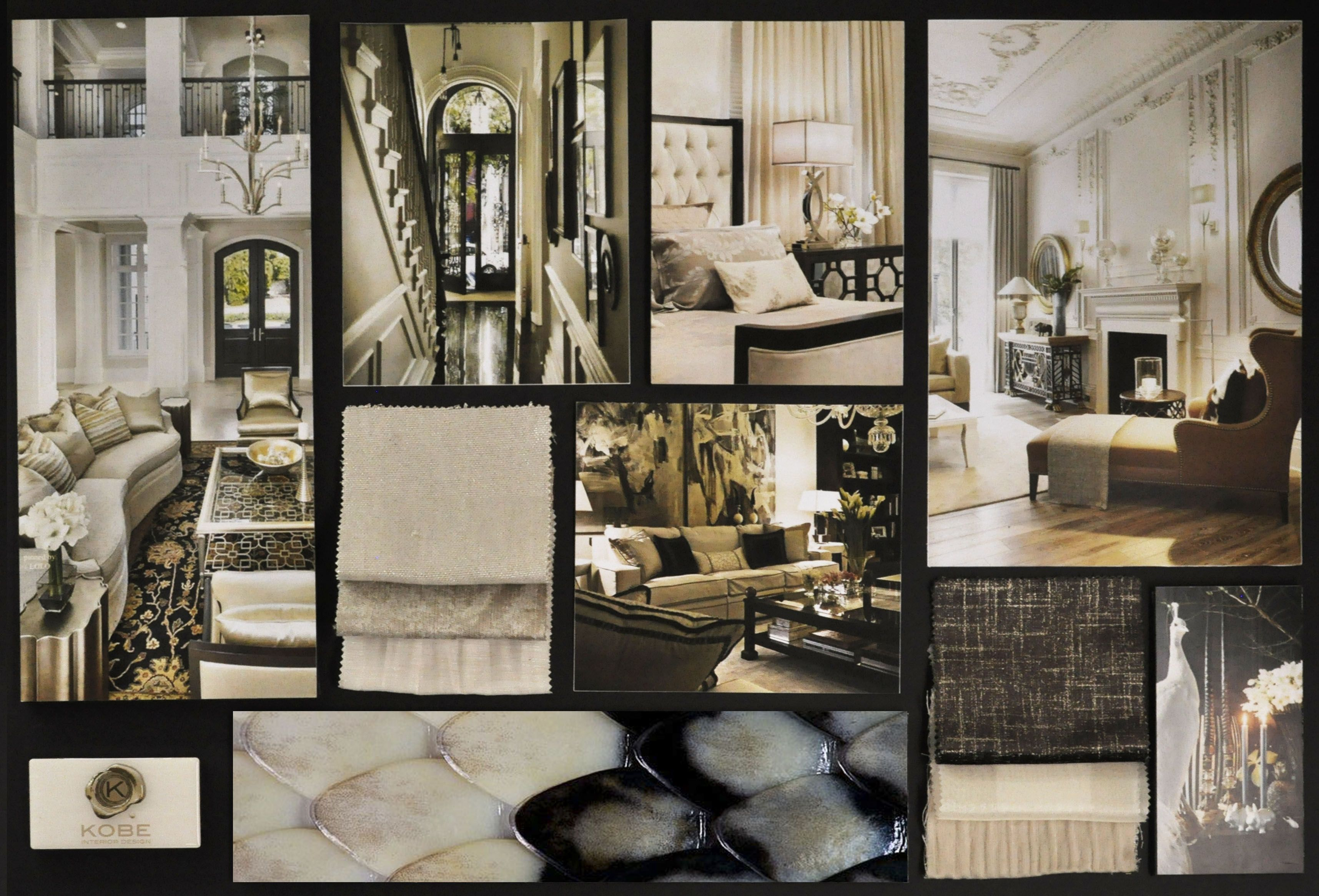 city chic moodboard interior inspiration by our kobe
