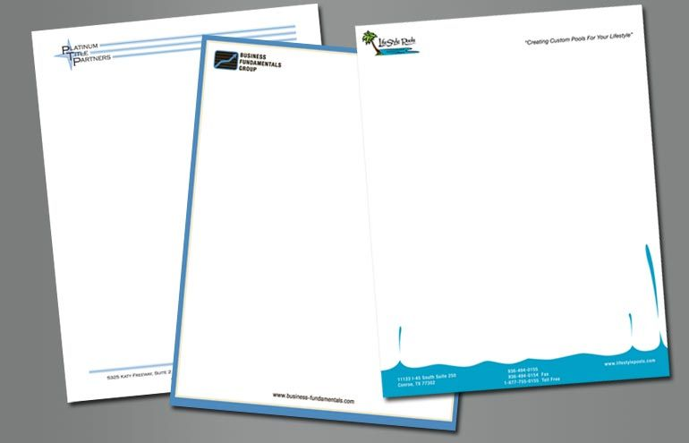 Unique #letterhead design Letter Head Designs Pinterest - professional letterhead format