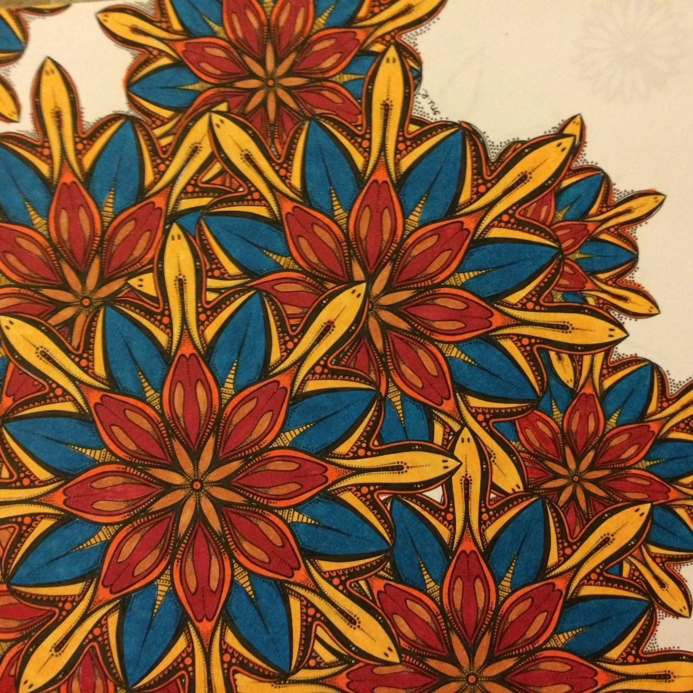 Amazon.com: Circolour: Mandalas & Patterns (Absent-Minded ...