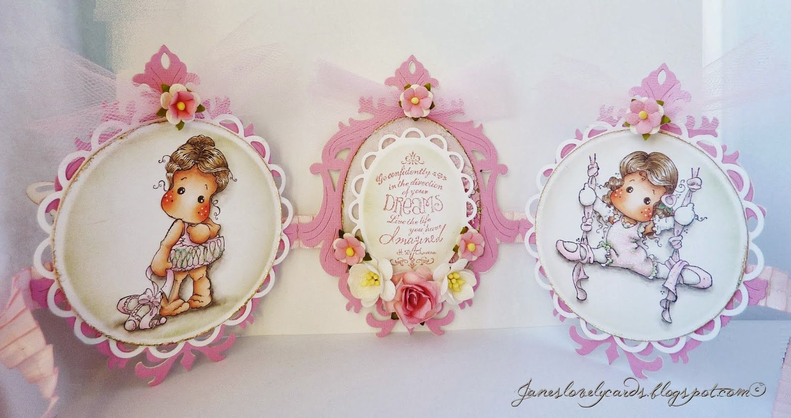 Jane's Lovely Cards : Magnolia-licious DT - In the Pink