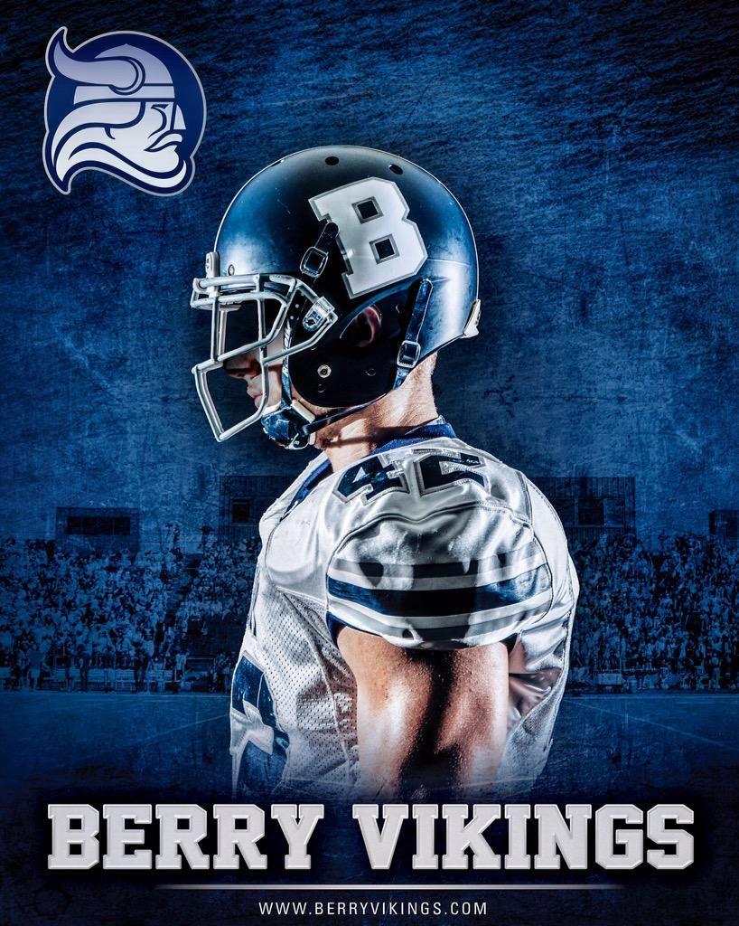 Berry football on football vikings football college