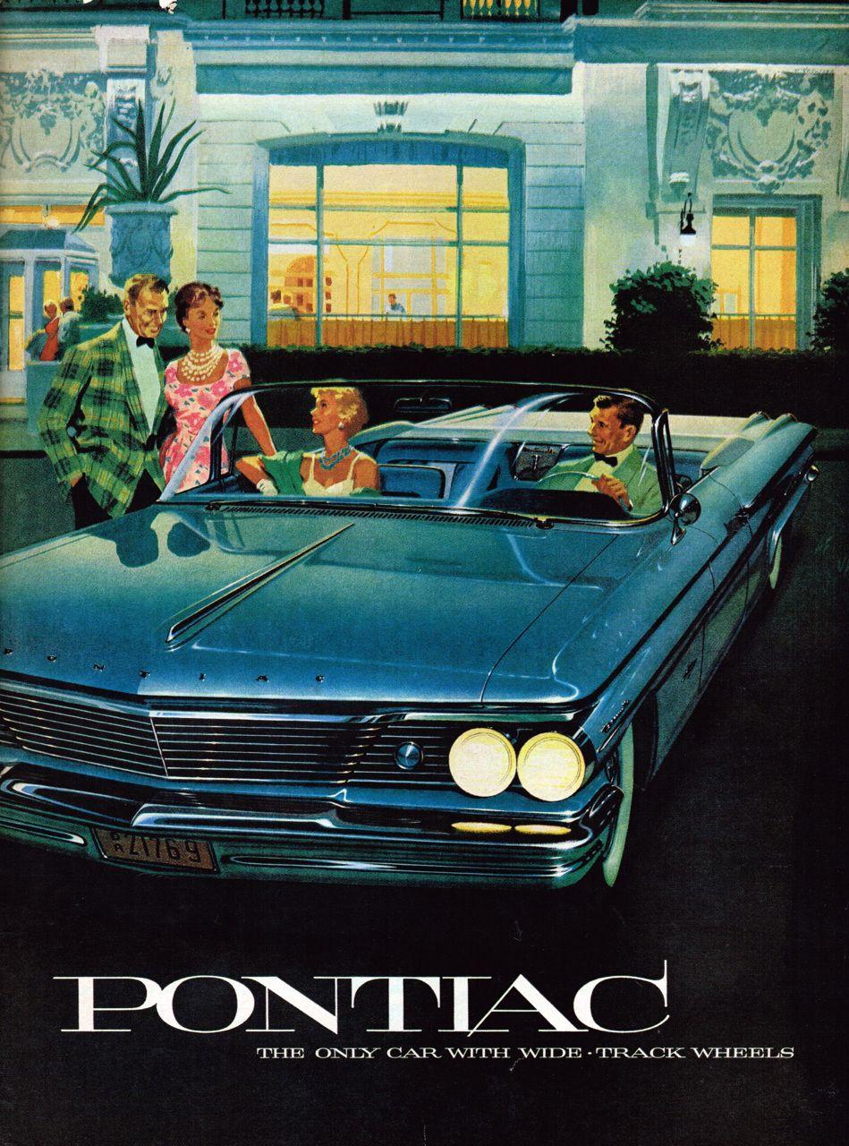 Remarkably Retro Pontiac Bonneville Pontiac Automobile Advertising