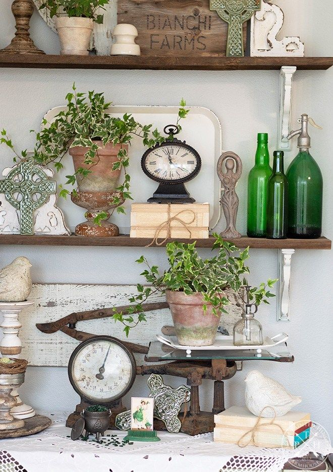 Photo of Farmhouse Style Saint Patrick's Day Decorating Ideas – Follow The Yellow Brick Home