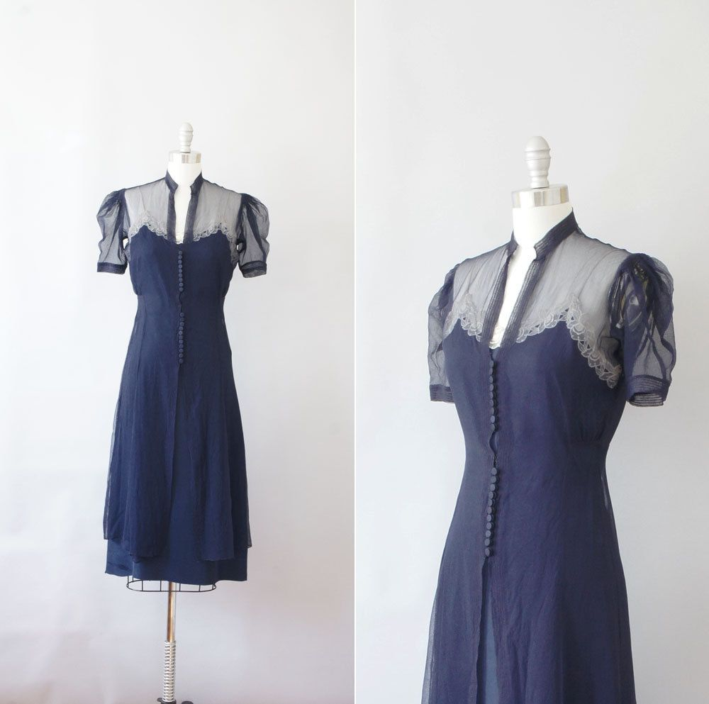 Late s early s dress vintage s s sheer dress orchid