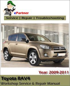 handbook toyota rav4 2009 2010 2011 service repair workshop manual rh pinterest com 2010 toyota rav4 factory service manual 2008 Toyota RAV4