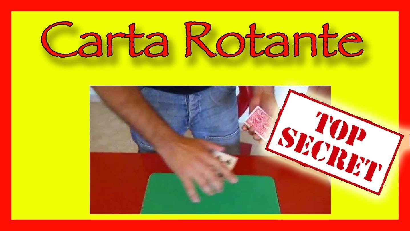 Carta Rotante card trick revealed