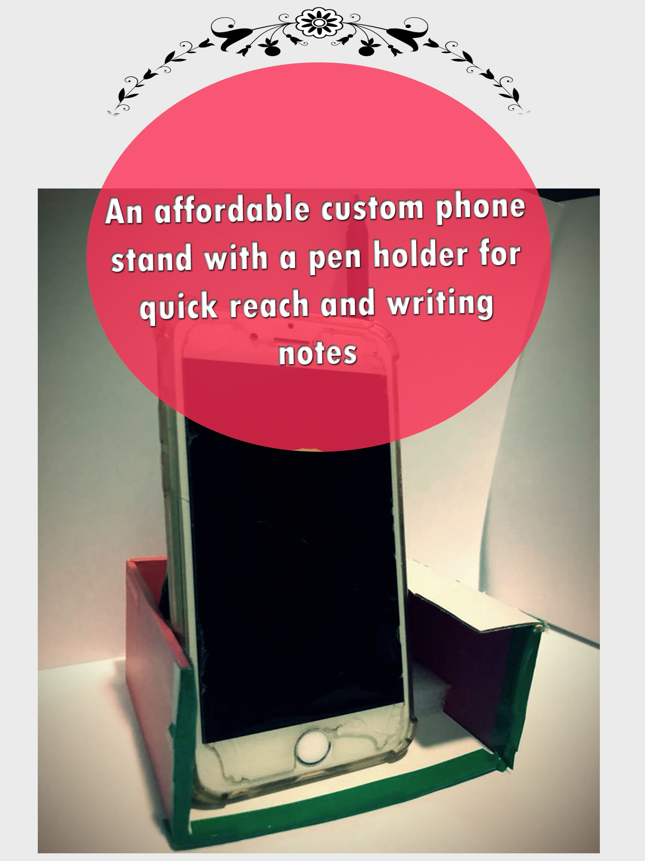A new post with something I thought about for the past couple of days. This will help you if you a blogger and struggling to find a way to put your phone on a desk or even work on it while keep doing your tasks on the PC.  #DIY #DIYideas #newpost #newidea #phone #customstand #penholder #affordableitems #savingmoney #lifestyle #Doityourself