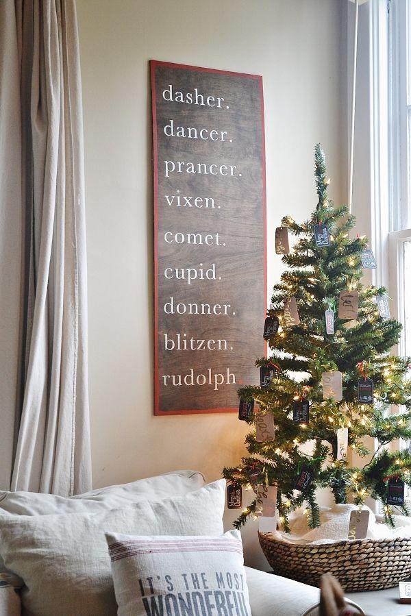 DIY Christmas Reindeer Sign Christmas decor, Super easy and DIY