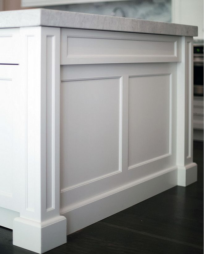 Island End. Island End Panel. Shaker Kitchen Island Panel