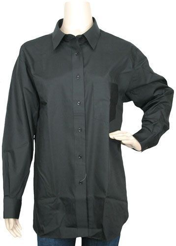 Wrinkle Free Solid in Black by Foxcroft