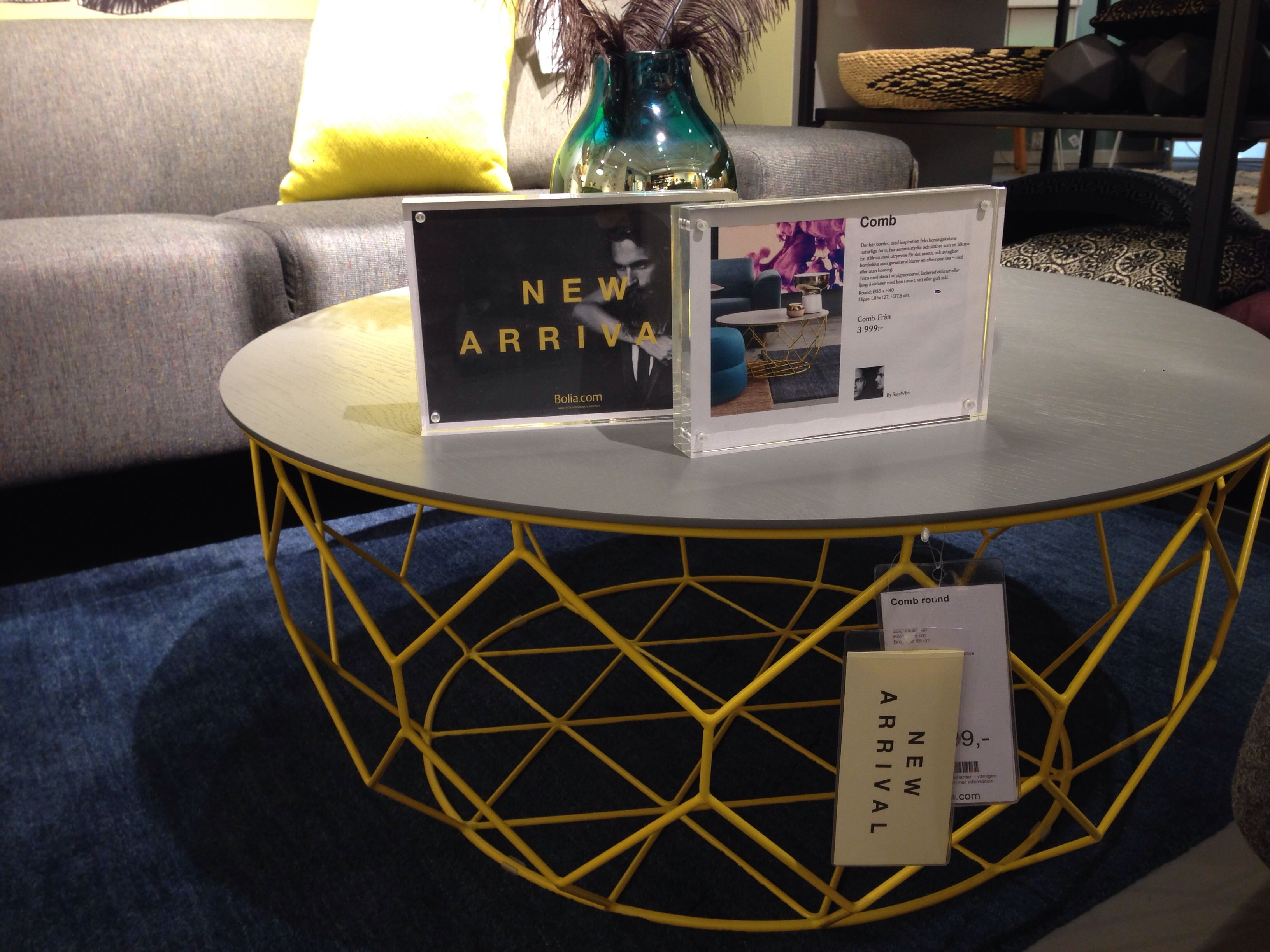Cool coffee table from Bolia