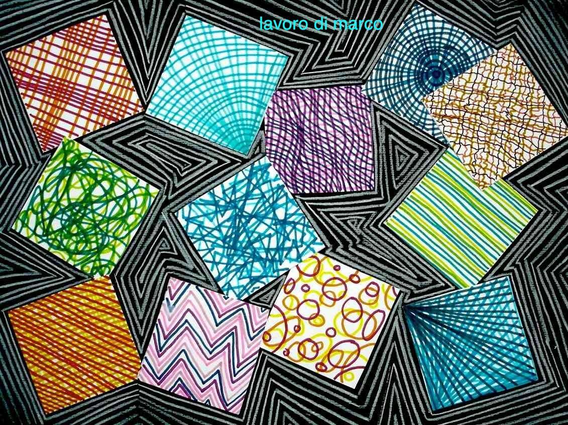 Arteascuola Disegno Inventa Una Texture