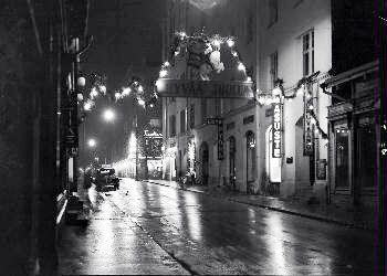 Tampere 20.12.1950, photo: Staf E.M.