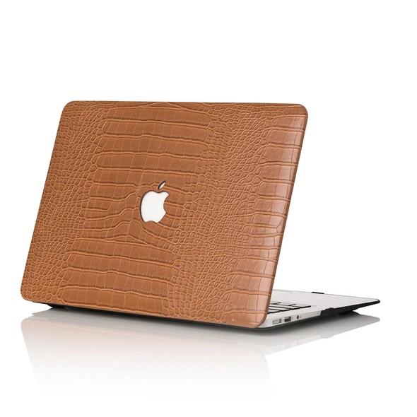 Caramel Faux Crocodile MacBook Case in 2020 Macbook case