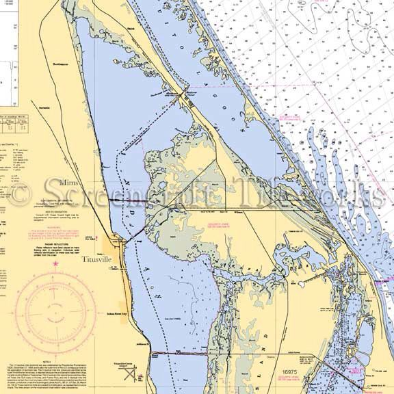 Image Result For Map Of Intracoastal Waterway Titusville Fl