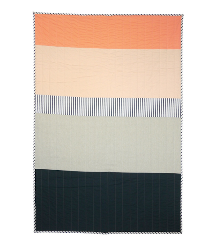 New Geometry: Quilts Designed by an Architect and a Painter #modernquiltingdesigns