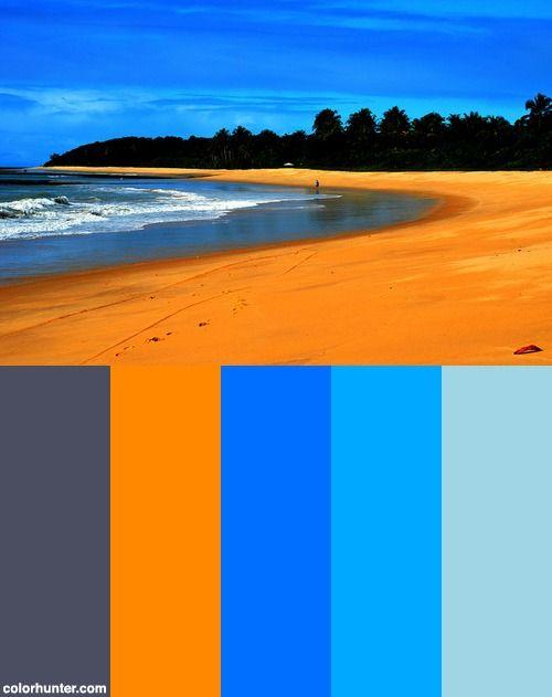 Praia Do Rio Verde Color Scheme