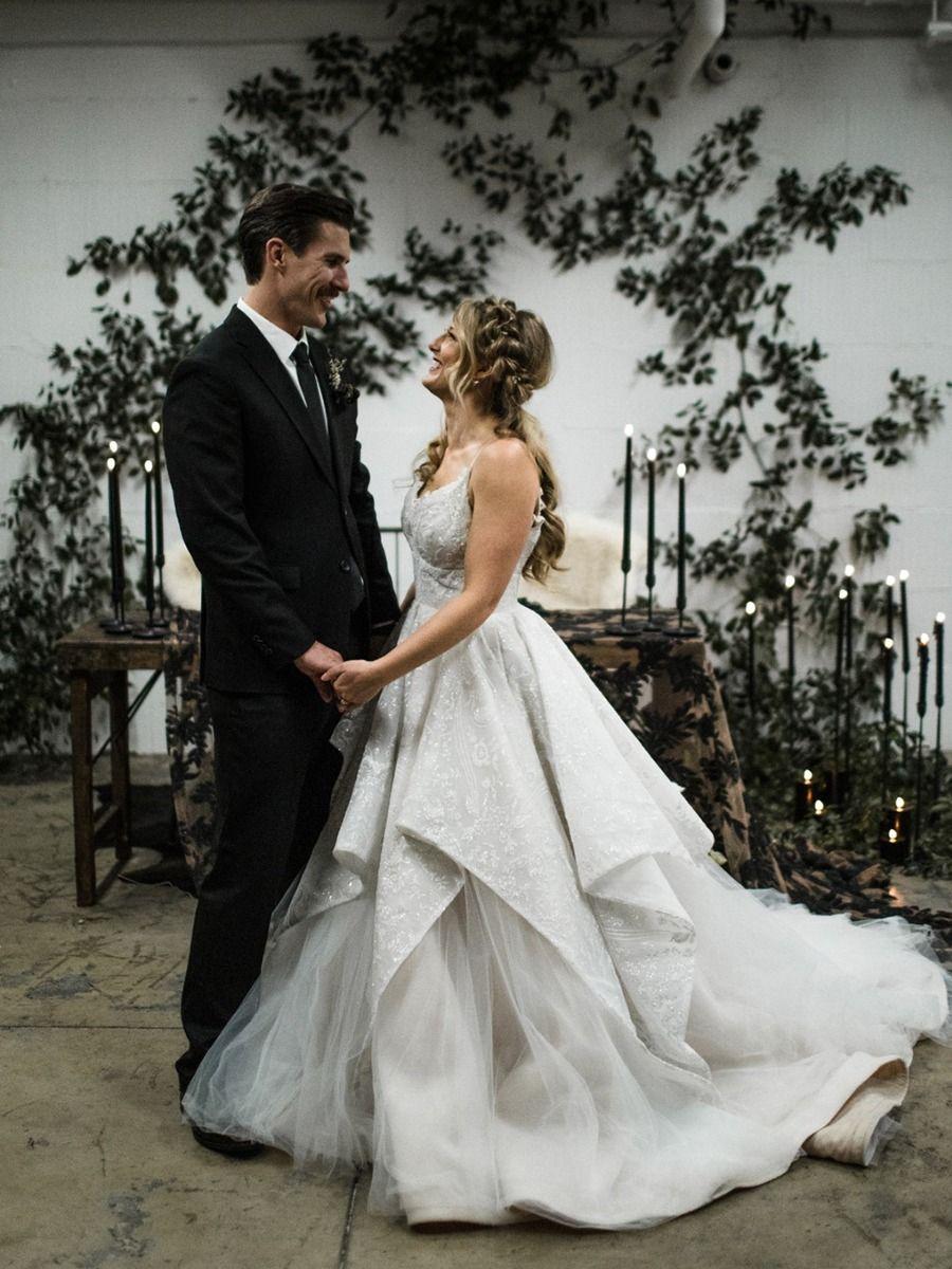 How To Have A Moody Black And White Wedding Winter Wedding Dress Wedding Wedding Film [ 1200 x 900 Pixel ]