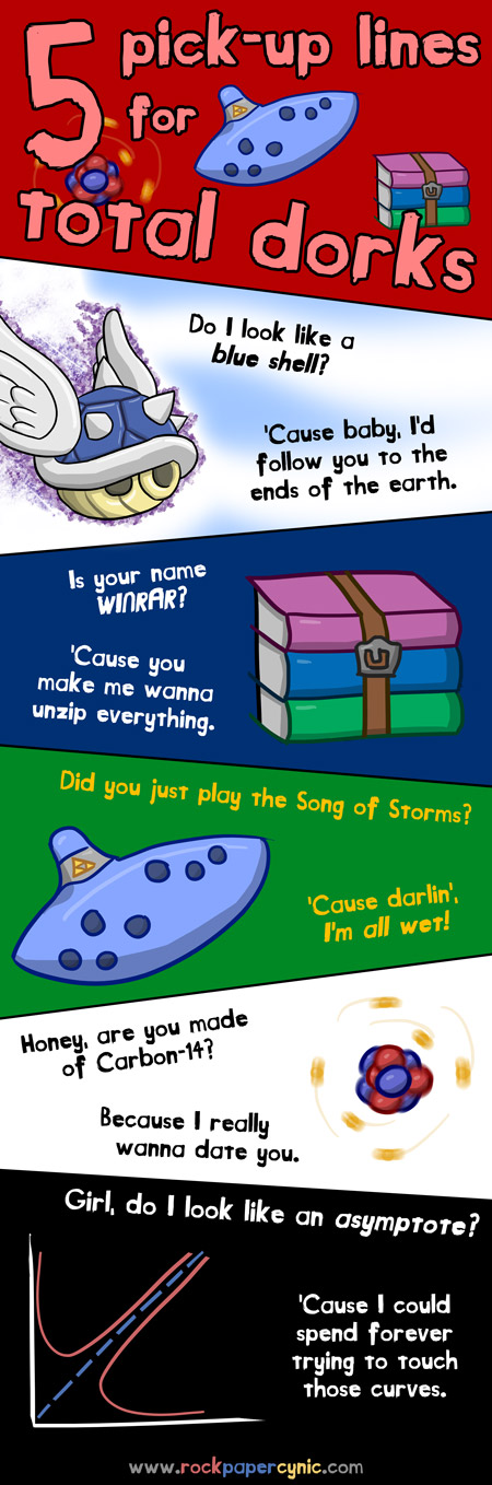 Pick Up Lines For Those Who Love Carbon 14 Blue Shells Song Of Storms Winrar And Asymptote Pick Up Lines Geeky Pick Up Lines Nerdy Pick Up Lines