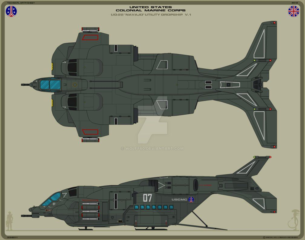 USCMC UD-22 Dropship V.1 by Wolff60 on DeviantArt