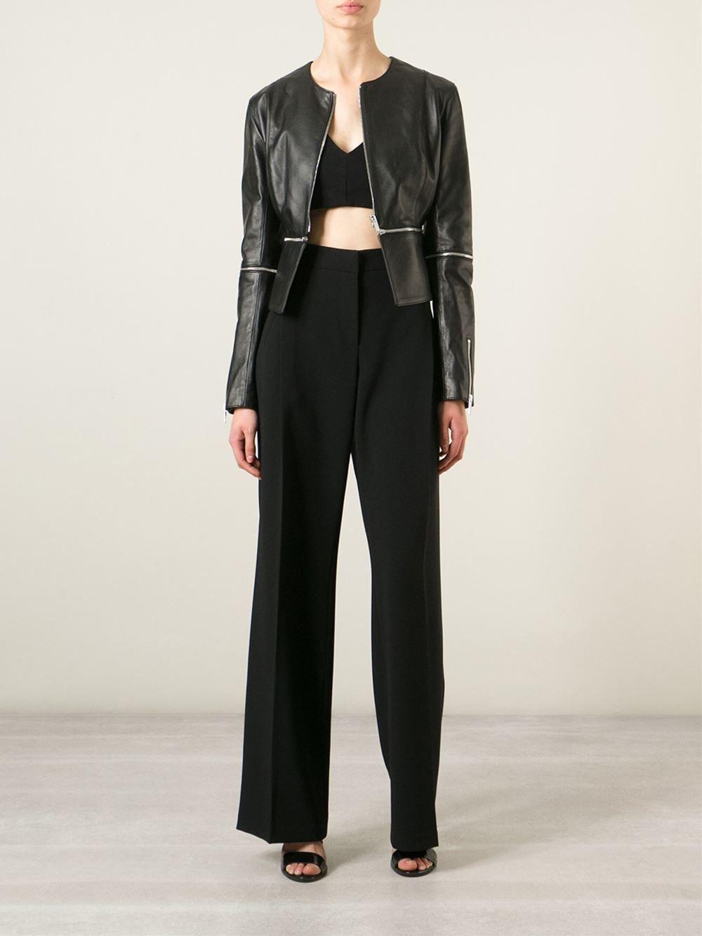 Christopher Kane Cross Zip Jacket - Dell'oglio - Farfetch.com