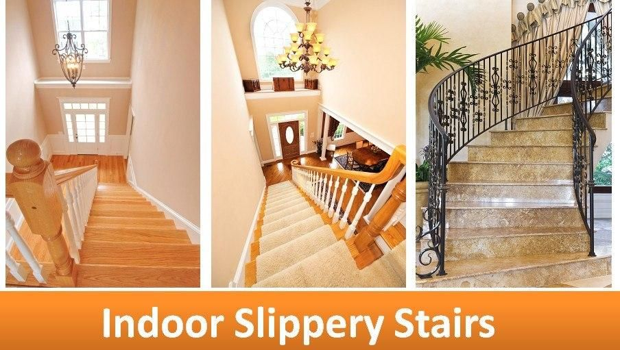 Merveilleux Solutions To Prevent Slip And Fall Accidents On The Stairs. Indoor And  Outdoor Slippery Stairs