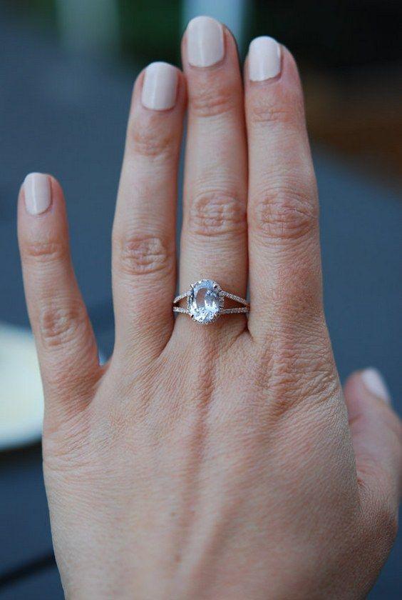 100 Engagement Rings Wedding Rings You Don T Want To Miss Heart Wedding Rings Oval Engagement Ring Split Shank Pink Morganite Engagement Ring