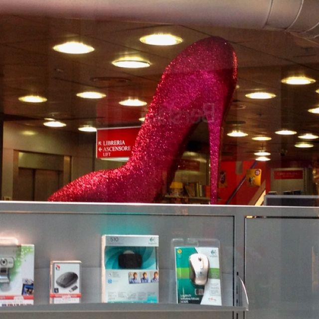 A very big shoe - Milan