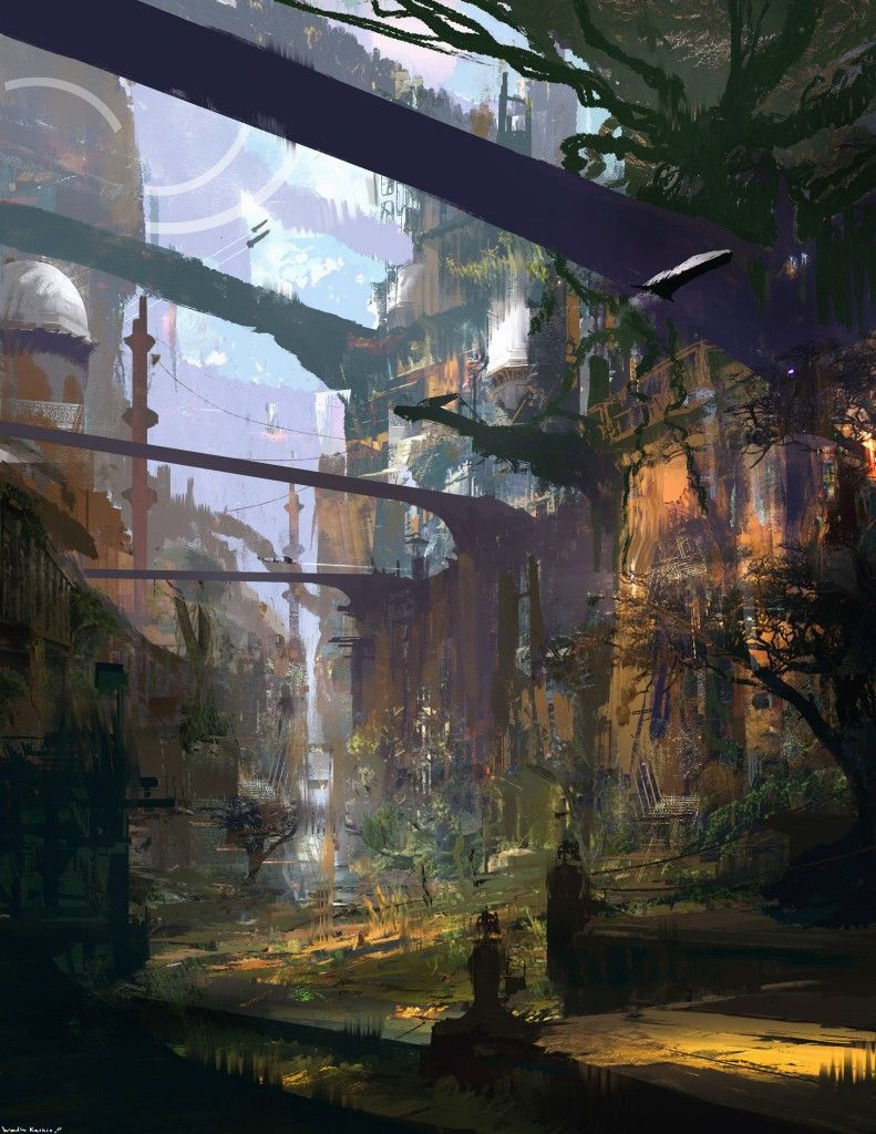 Abstract Approach to Concept Art