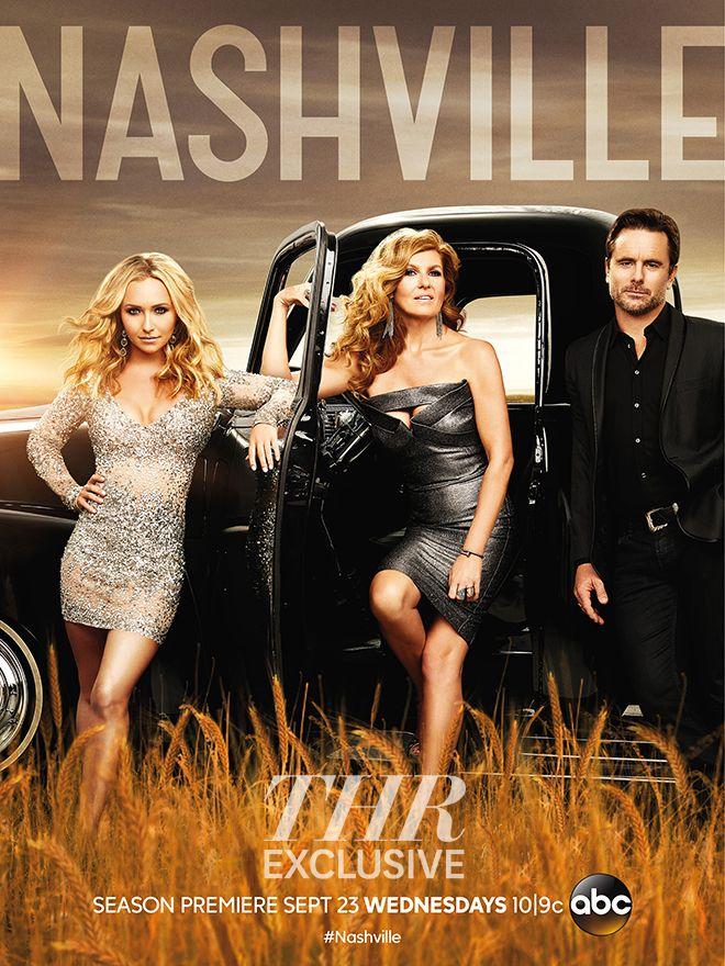 Nashville starring Hayden Panetierre, Connie Britton, and Charles Esten.