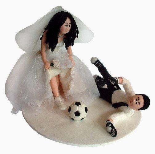 Hochzeitstorte Topper Braut