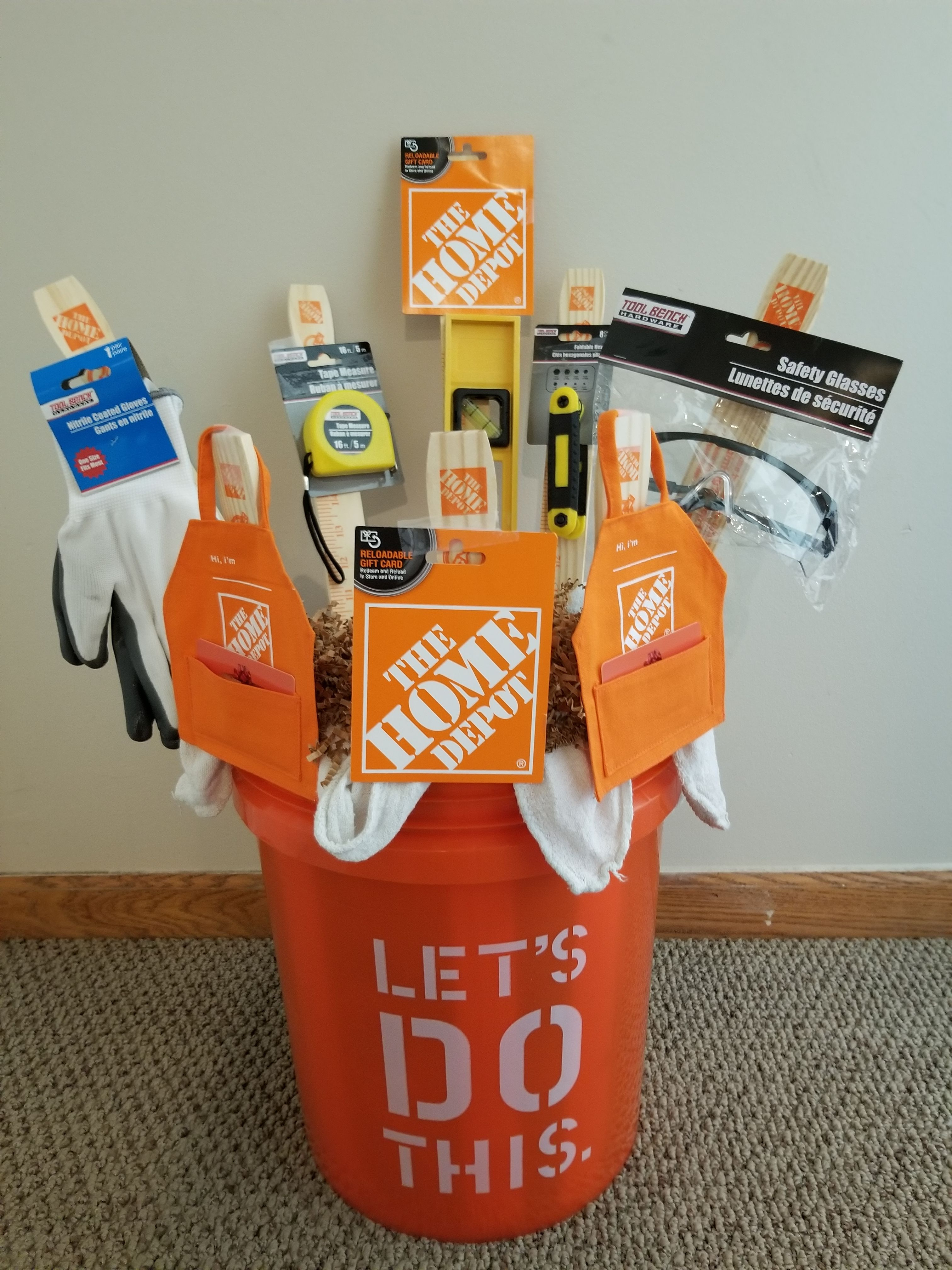 Home Depot Gift Card Idea Gift Card Presentation Clever Gift Small Gifts