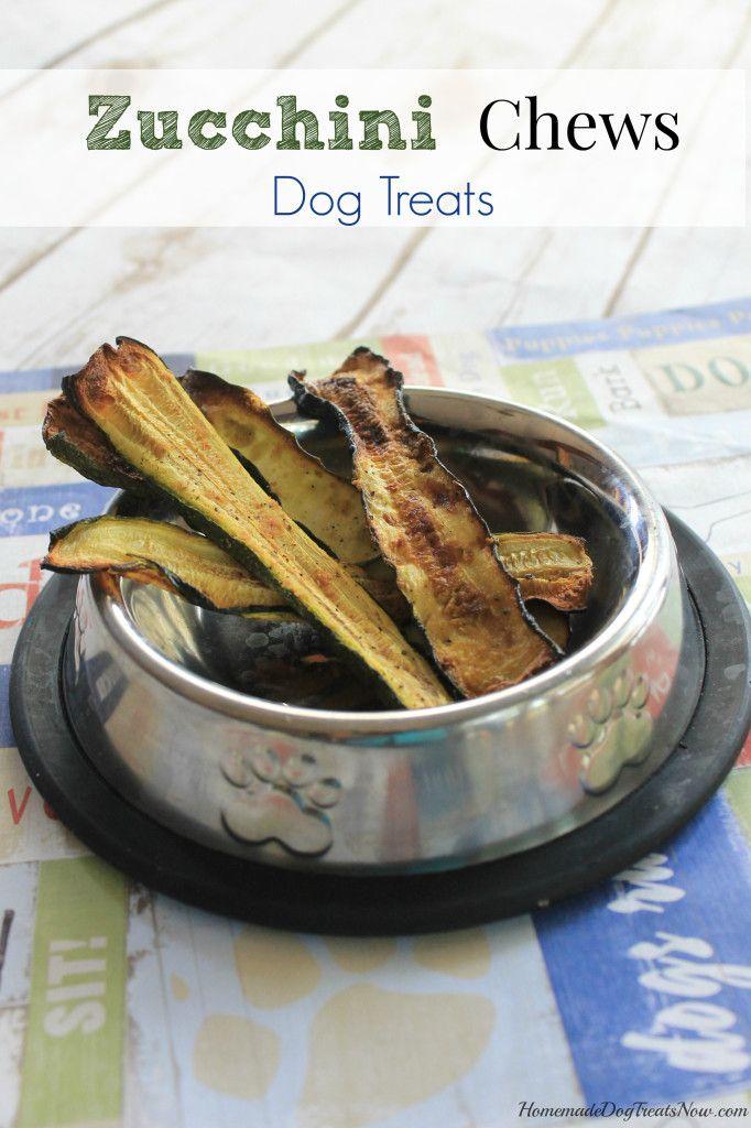 Zucchini Chews Dog Treats Cat Doggie Snacks