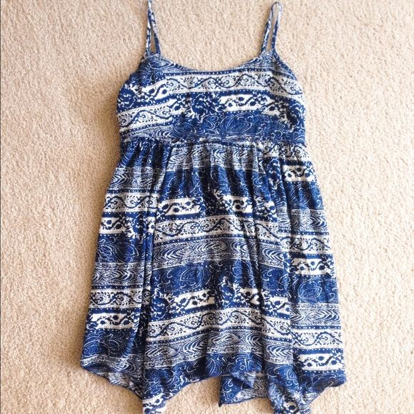 HPNavy blue dress Navy blue dress from american eagle!! Worn only once American Eagle Outfitters Dresses