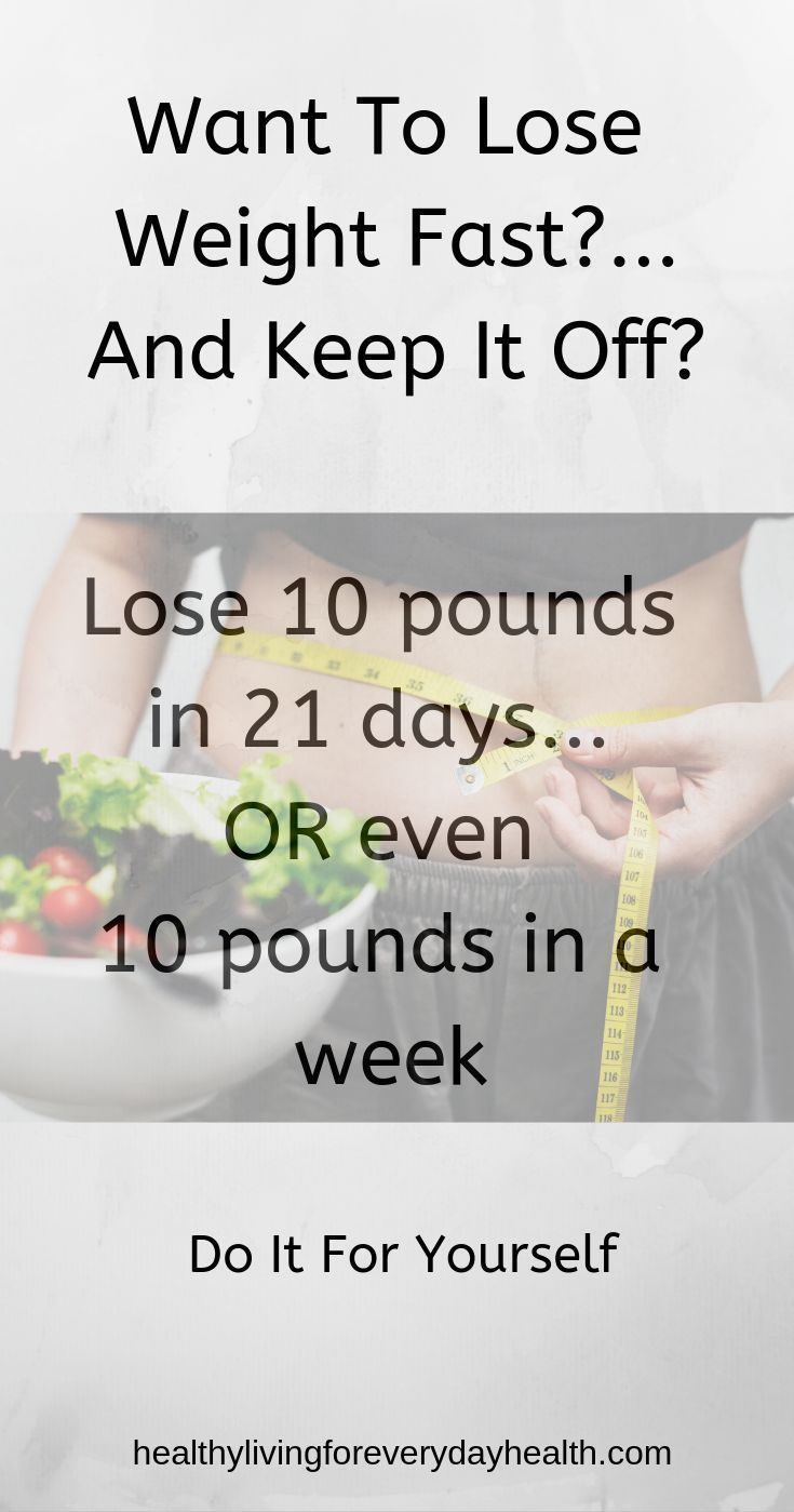 Lose 10 Pounds In A Week, How To Lose Belly Fat
