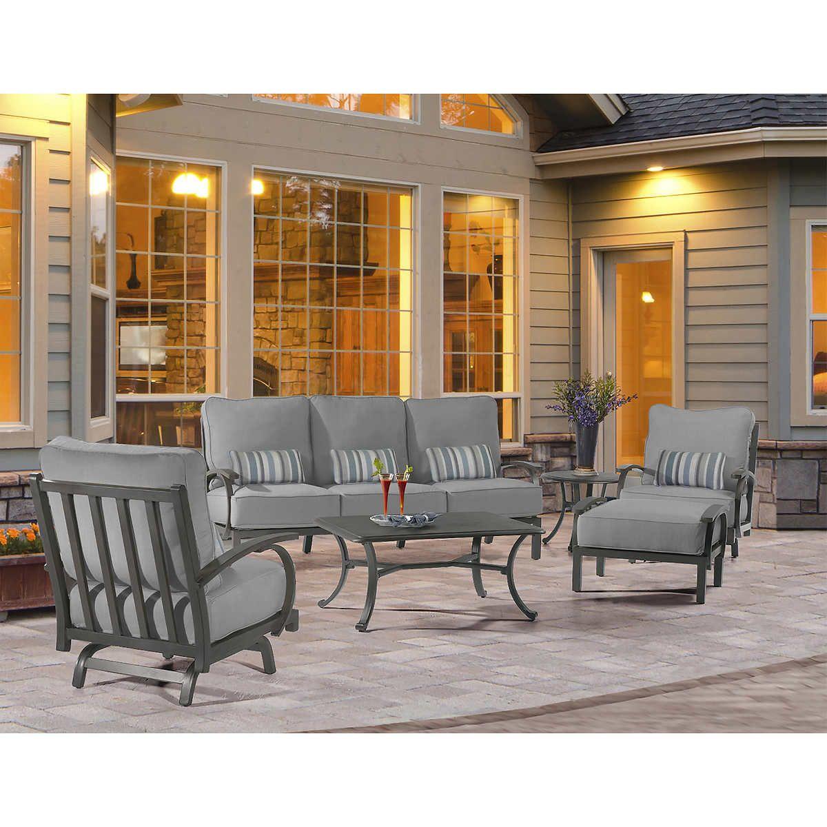 Madison 6piece Seating Set Outdoor furniture sets